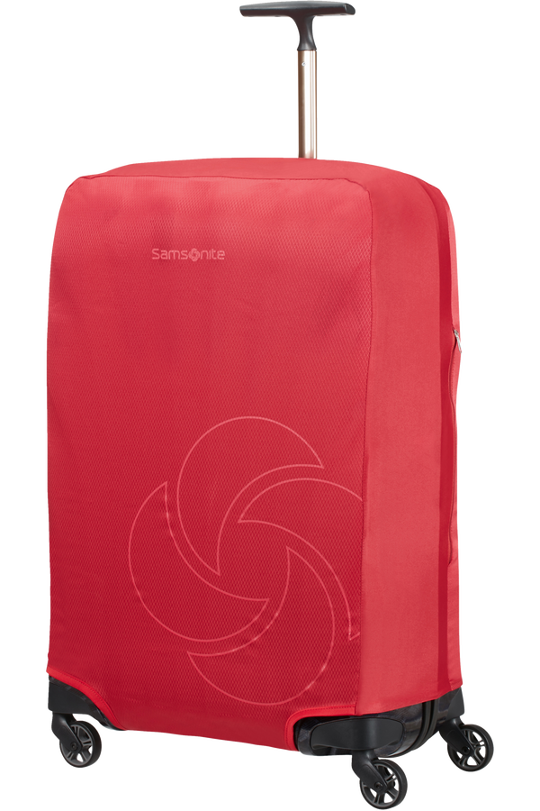 Samsonite Global Ta Foldable Luggage Cover M Rot