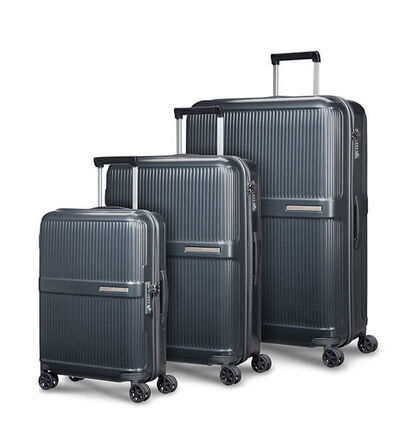 Dorsett 3 pc Set A  Matte Metallic Grey