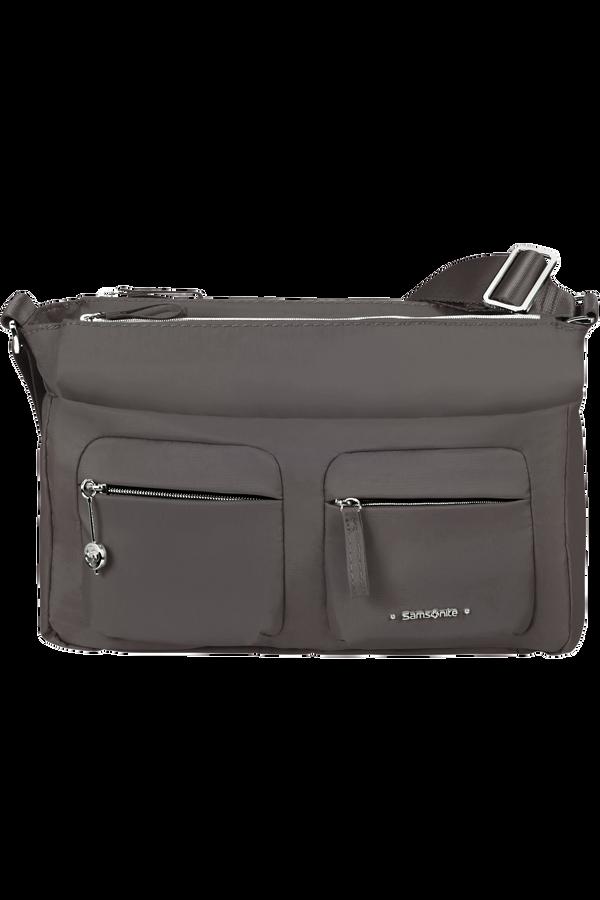 Samsonite Move 3.0 Horizontal Shoulder Bag + Flap  Dark Grey
