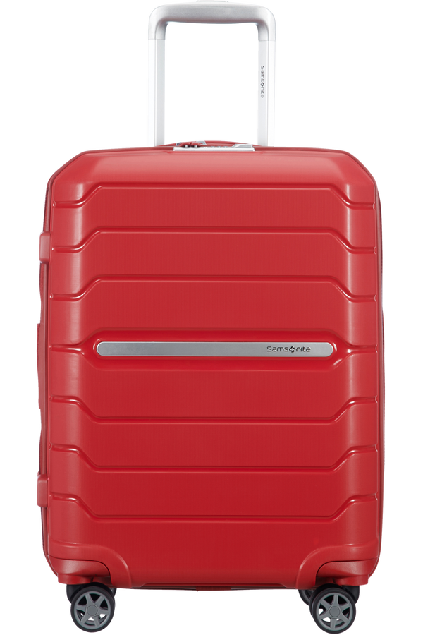 Samsonite Flux Spinner Expandable 55cm  Rot