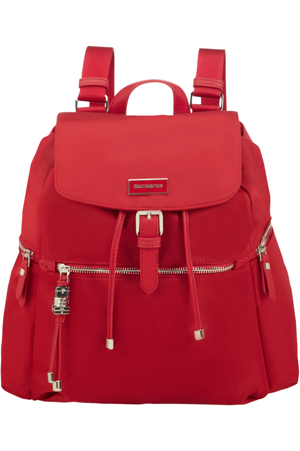Samsonite Karissa Backpack 3 Pockets + 1 Buckle  Formula Red