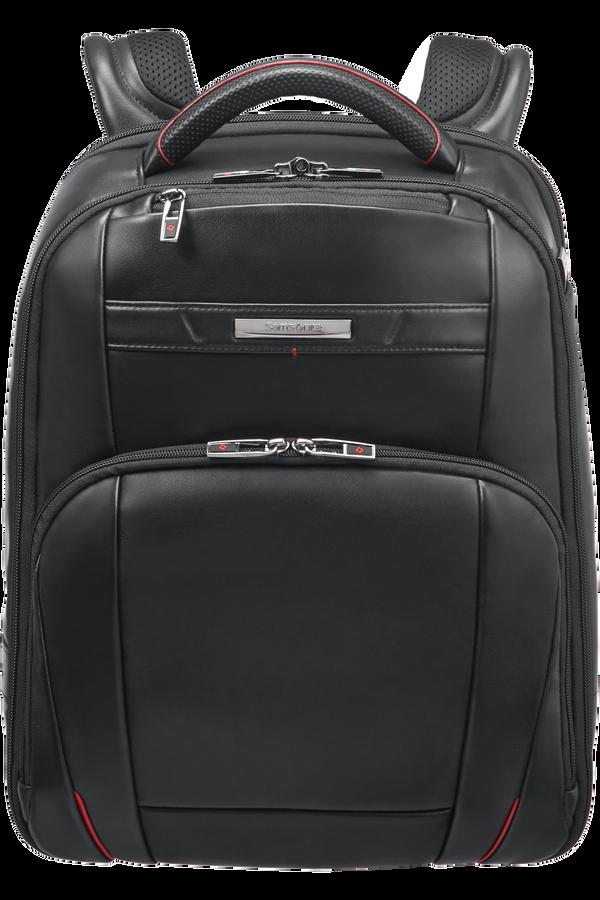 Samsonite Pro-Dlx 5 Lth Laptop Backpack  14.1inch Schwarz