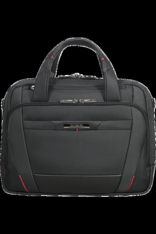 Samsonite Pro-Dlx 5 Laptop Bailhandle  35.8cm/14.1inch Schwarz