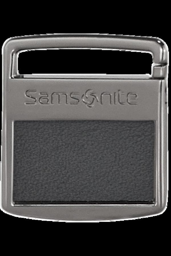 Samsonite Im T@G Metal Tag S Gunmetal Grey