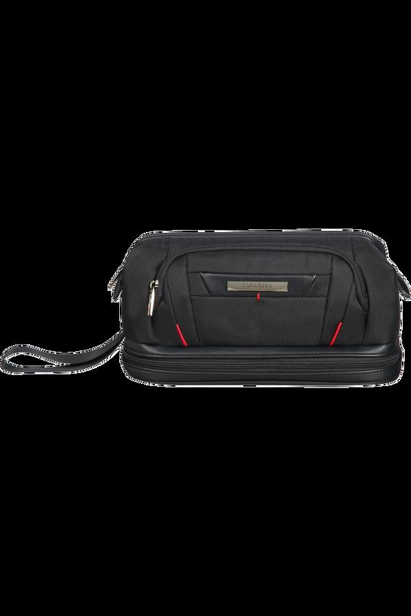 Samsonite Pro-Dlx 5 C. Cases Toiletry Bag Large Opening  Schwarz