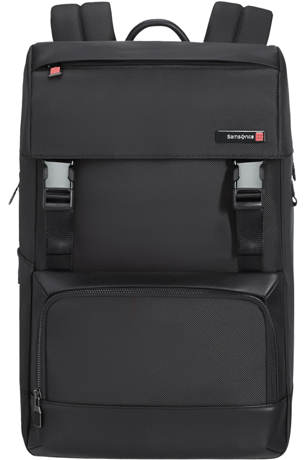 Samsonite Safton Laptop Backpack Flap  15.6inch Schwarz