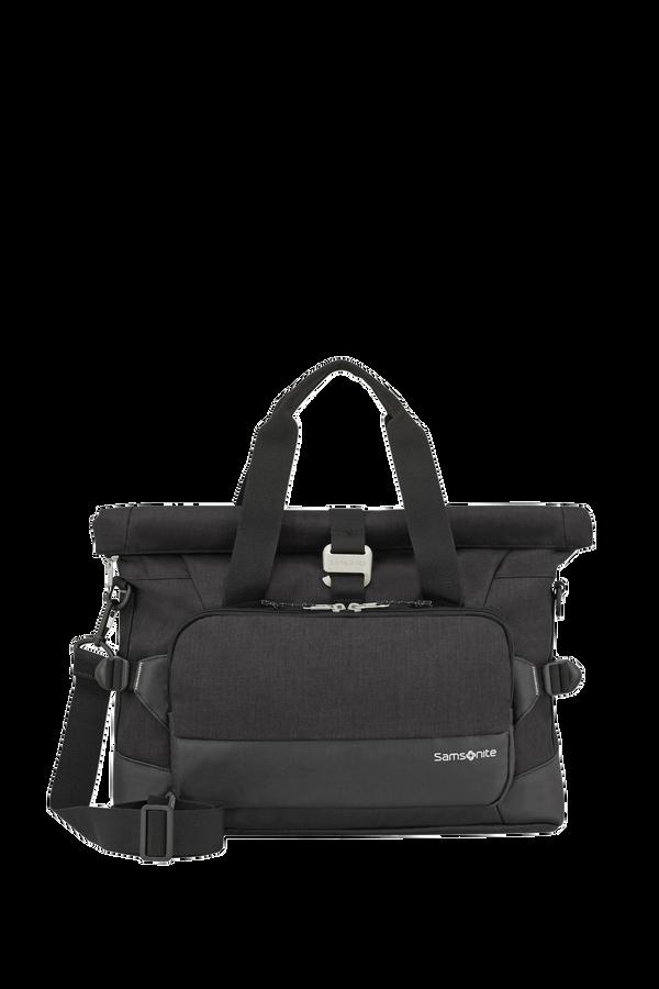 Samsonite Ziproll Laptop Shoulder Bag  Schwarz