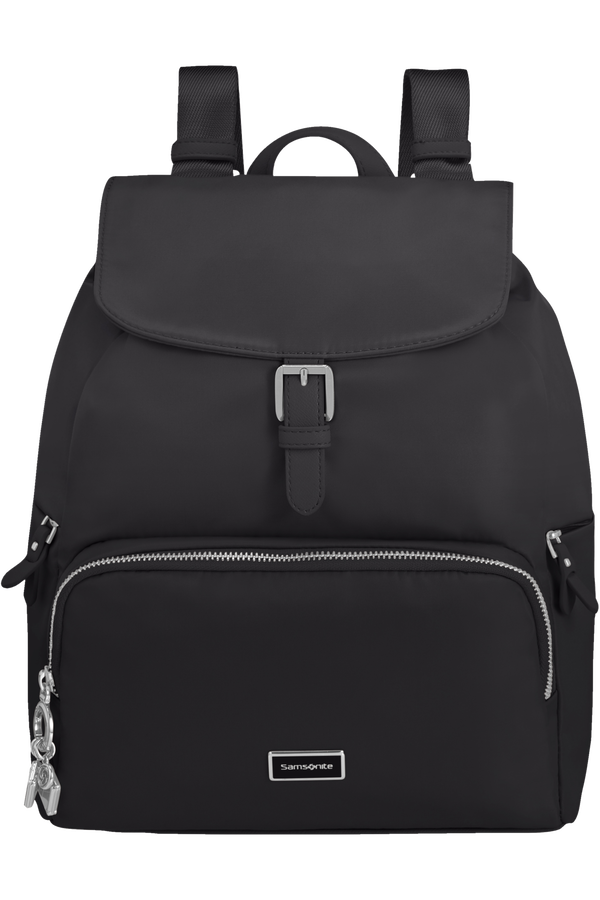 Samsonite Karissa 2.0 Backpack 3 Pockets 1 Buckle  Schwarz