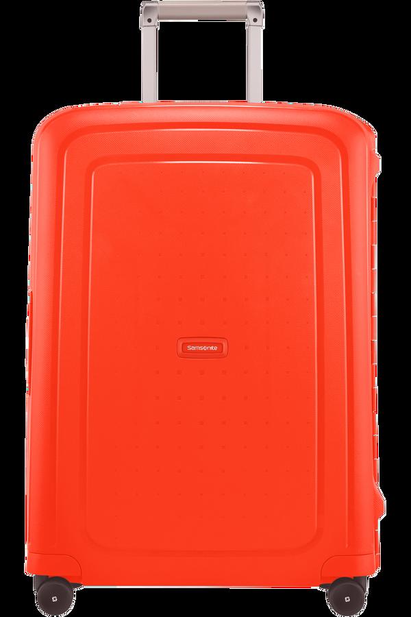 Samsonite S'Cure Spinner 69cm  Fluo Red Capri
