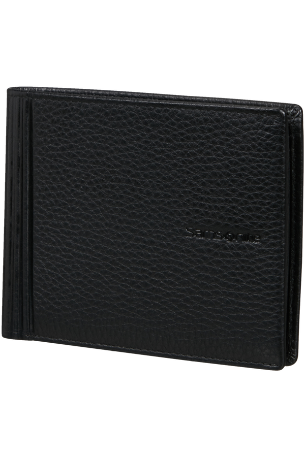 Samsonite Double Leather Slg 015 - B 4CC+2C+C  Schwarz