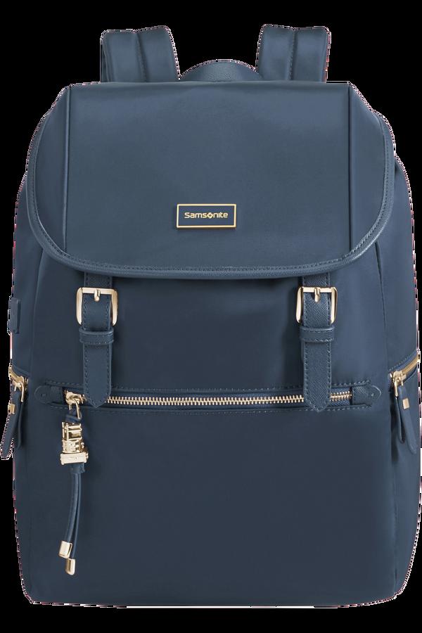 Samsonite Karissa Biz Backpack 14.1'+Flap W/Usb  Dark Navy