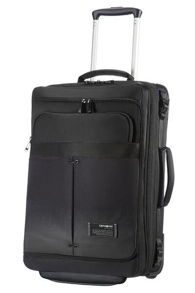 Cityvibe Reisetasche mit Rollen 55cm Jet Black