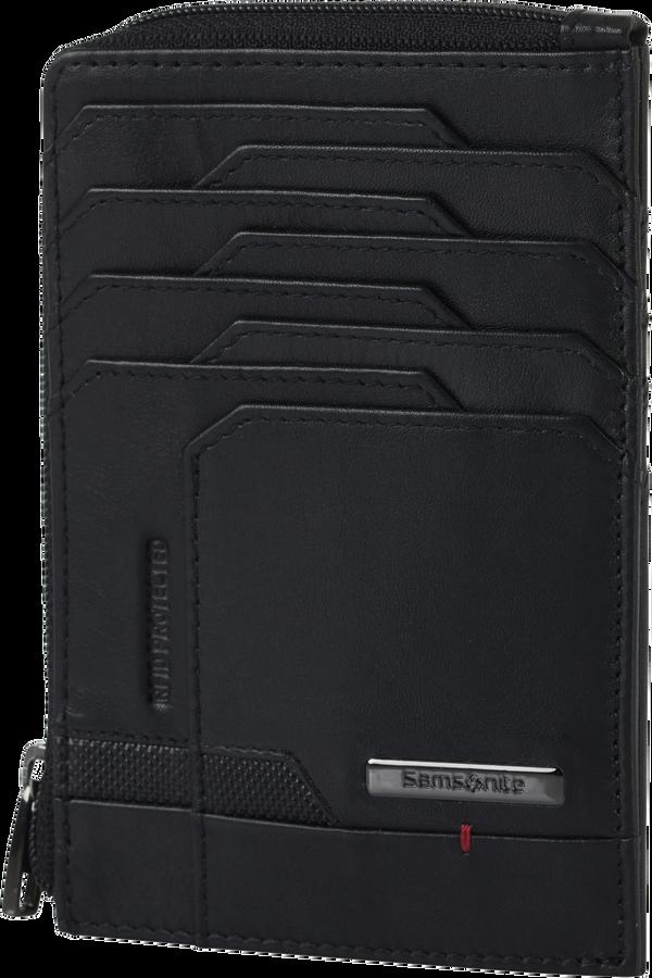 Samsonite Pro-Dlx 5 Slg 727-All in One Wallet Zip  Schwarz