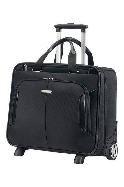XBR Laptoptasche mit Rollen Schwarz