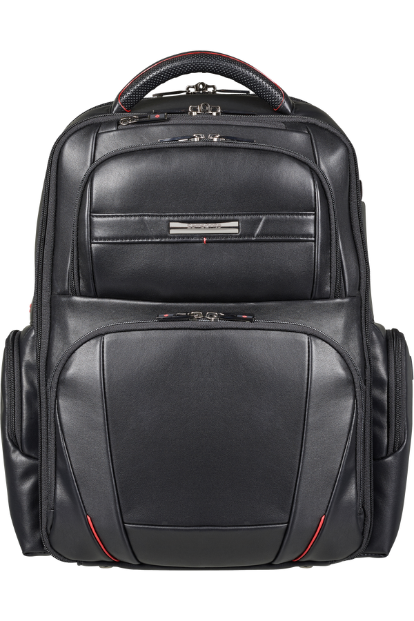 Samsonite Pro-Dlx 5 Lth Laptop Backpack  15.6inch Schwarz