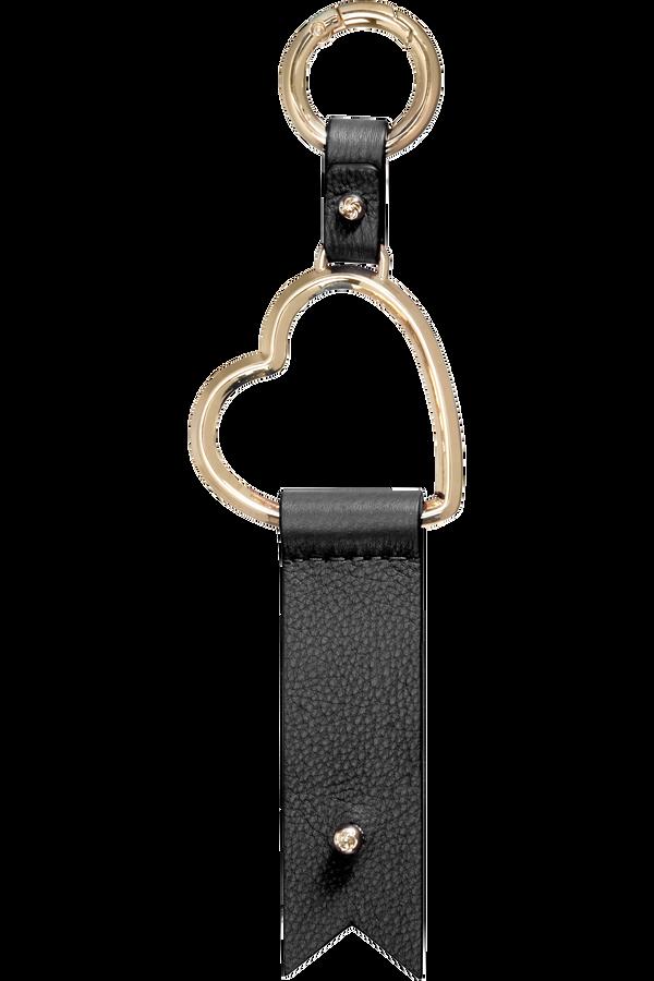 Samsonite Lady Charmy Heart Key Ring  Schwarz