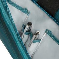 Tolle, funktionelle Innenorganisation mit praktischen Taschen.