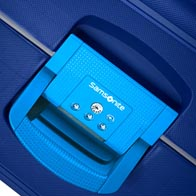 Three-point TSA locking system for secure travel to the USA.