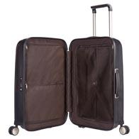 Schicke Innenausstattung mit praktischen Packmöglichkeiten, wie Netzabtrennung und Taschen.