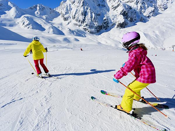 A late-season ski trip