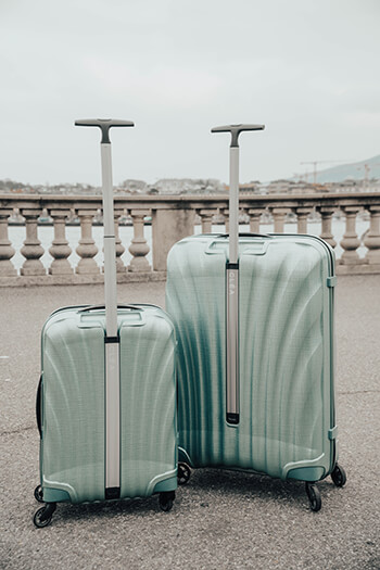 Cosmolite Suitcases - Personalise your lugggage with Samsonite